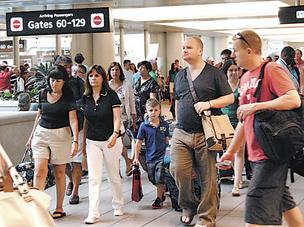 There were more than 18.3 million travelers arriving and leaving form the Orlando International Airport in the first six months of this year.