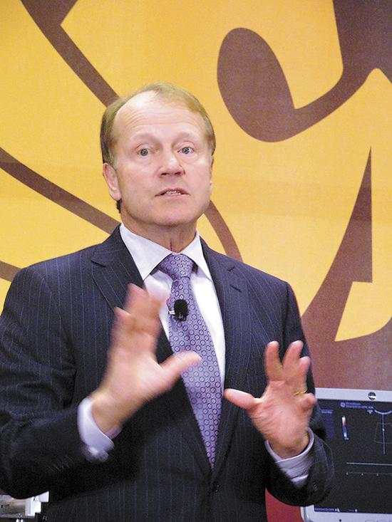 John Chambers, chairman and CEO of Cisco Systems Inc.