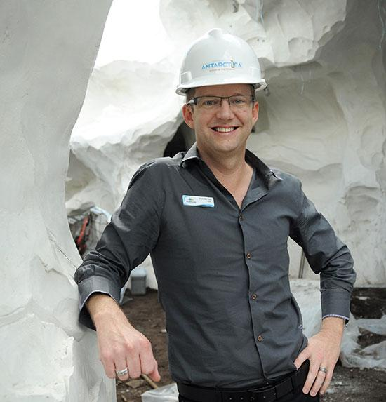 Brian Morrow, senior director of attraction development and design, SeaWorld Parks & Entertainment