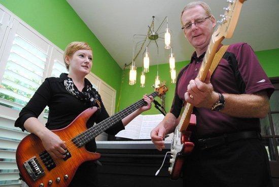 Tanya Carroll and Stuart Scott of Seaside National Bank