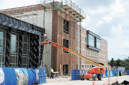 New construction at Valencia College's West Campus