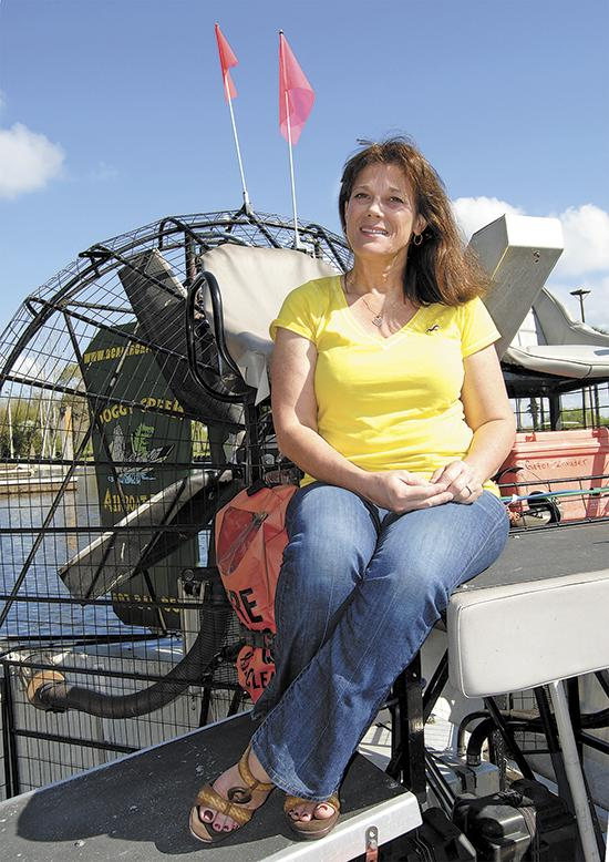 Margie Long, Boggy Creek Airboat Rides Inc.