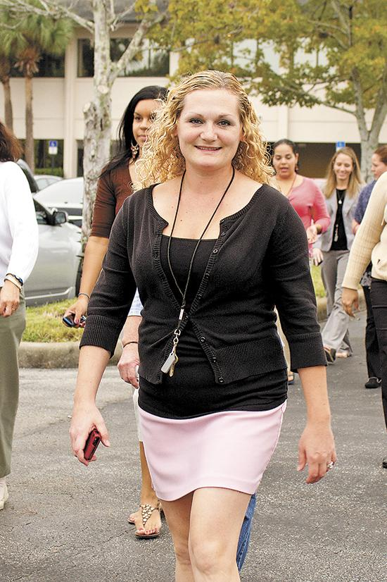 Children's Home Society of Florida wellness leader Joan Marie White