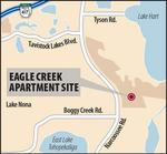 Eagle Creek preps for 550 apartments near Medical City