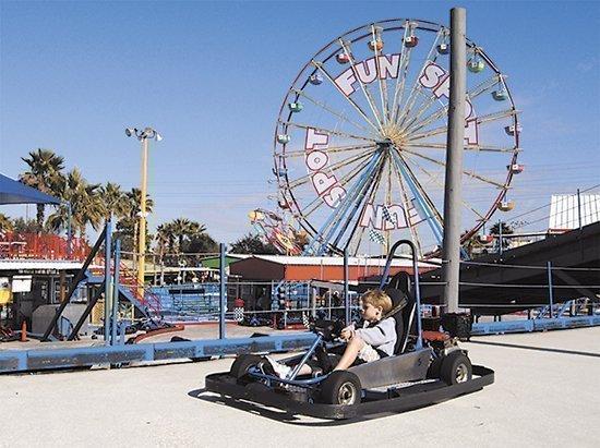 Fun Spot is tripling its park size in 2013.