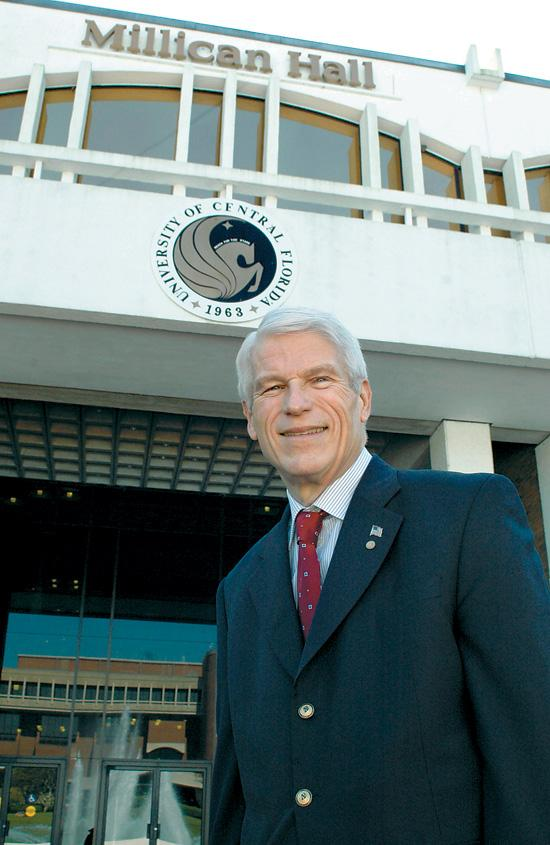 UCF President John Hitt
