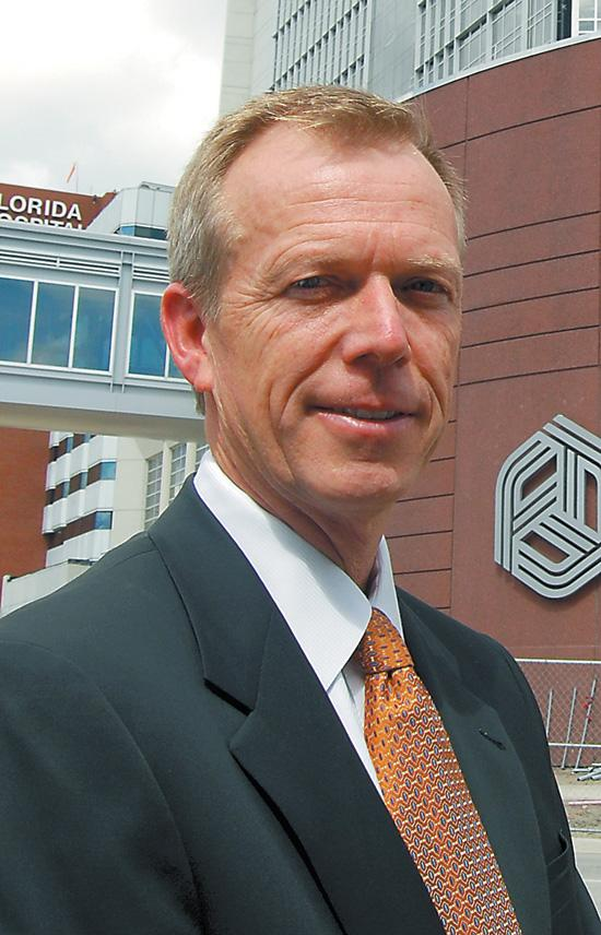 Lars Houmann, president and CEO of Florida Hospital Orlando, made $2.92 million in 2010.