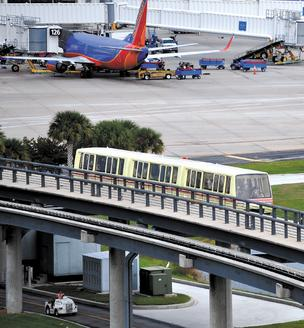 Orlando International Airport held on to its ranking as the 10th busiest airport in the U.S. for domestic departures during the first 10 months of 2012.