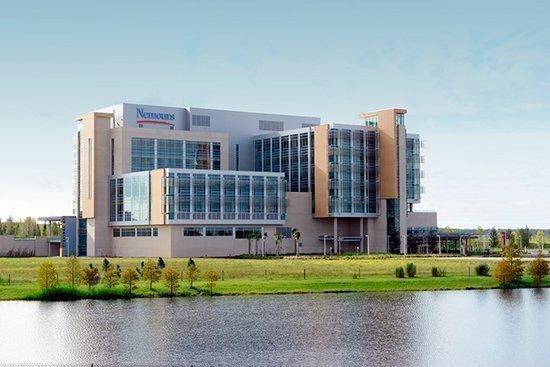 Nemours Children's Hospital opened on Oct. 22.