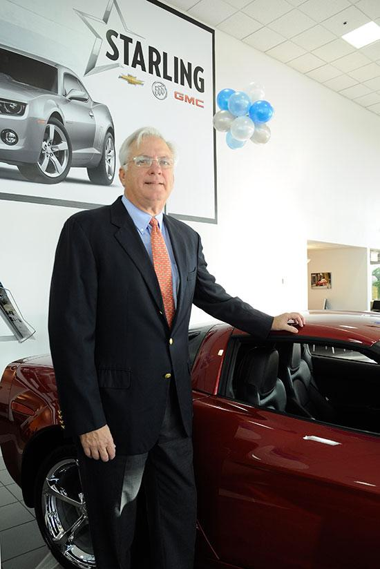Starling Automotive Group President Alan Starling