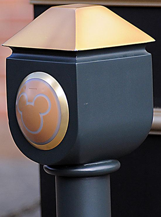A MyMagic+ reader is being tested next to the Haunted Mansion.