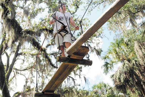 Other recent zoo additions include a zipline.