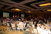 Guests take a seat for the 2012 Golden 100 awards ceremony at the Hilton Orlando.