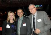 from left: Stephanie Howell of Howell Advertising, Alex Gonzalez and Jack Williams of Harvard Jolly Architecture