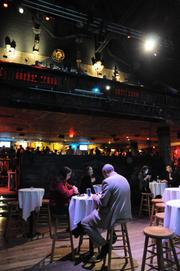 Crowds spread out over two floors at House of Blues during the Book of Lists Party.