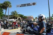 The banner over Main Street says it all during Biketoberfest 2012.