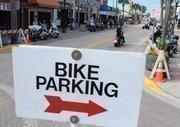 Biker friendly parking is everywhere in Daytona Beach during both Biketoberfest and Bike Week.