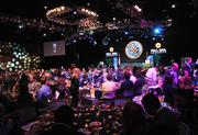 Guests find their seats as the award ceremony is about to begin.