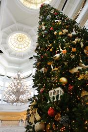 Disney's Grand Floridian features some of the most popular decorations on property.