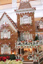 The giant gingerbread house at Disney's Grand Floridian is more than just a decoration, it's a shop.