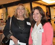 Sue McDermeit and Jodi Desalle-Horns of Gaylord Palms were among the guests at the awards event.