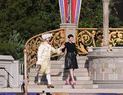 Actress Ginnifer Goodwin acted as master of ceremonies for the new Fantasyland dedication event.