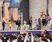 Jordin Sparks, dancers and a castle. Let the magic begin.