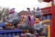 Some guests opted to play at Dumbo's Storybook Circus, the first part of new Fantasyland to officially open to the public.