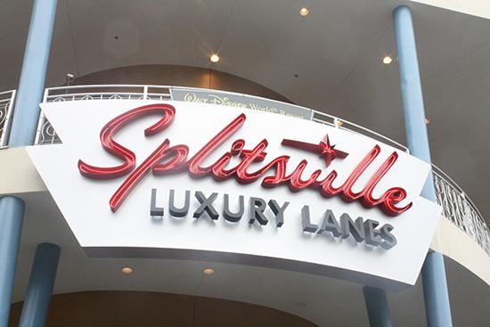 Splitsville at Downtown Disney opened to the public on Dec. 19.