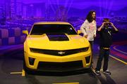 Real Chevrolet cars are still on display, but with new displays.