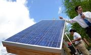 The solar panel is also automated. The system uses sensors that detect shadow and operate motors to pivot the panel toward the direction of the sun.
