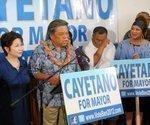 Cayetano focuses Honolulu mayor's race on rail