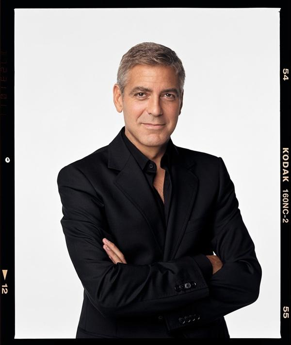 George Clooney was in Houston May 3.