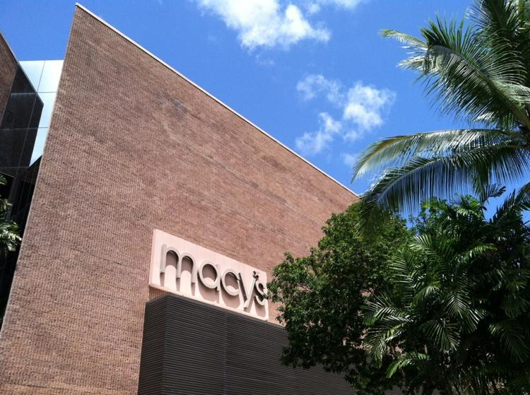Macy's was tops in sales growth among retailers surveyed.