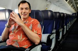 Hawaiian Airlines President and CEO Mark Dunkerley, seen in this file photo, has signed a new three-year contract with parent Hawaiian Holdings Inc.