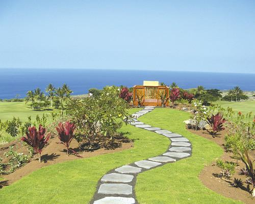 SunChase Holdings, which recently bought some $685 million of debt from Hokulia developer 1250 Oceanside Partners, has place the project into Chapter 11 bankruptcy reorganization. Seen in this 2007 file photo is the site of the future clubhouse at the project above the Big Island of Hawaii's Kealakekua Bay.