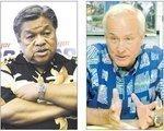 Caldwell sign-waves, Cayetano relaxes as Honolulu mayor's race nears the finish