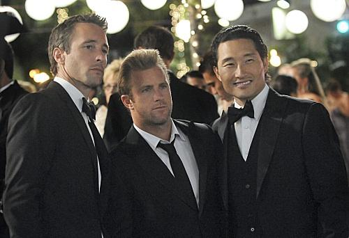 "Actors Alex O'Laughlin, Scott Caan and Daniel Dae Kim star in ""Hawaii Five-0."" The CBS crime drama, which is filmed on Oahu, featured a number of Hawaii businesses on its Feb. 13, 2012, episode."