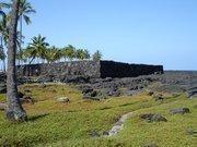 10. Puuhonua o Honaunau National Historical Park, Big Island.Archaeological sites at the park include temple platforms, or heiau, including the Alealea Heiau, seen here.