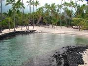 10. Puuhonua o Honaunau National Historical Park, Big Island.The park also includes Keoneele Cove at the end of Honaunau Bay, which is abutted by a small strip of white sand once used by Hawaiian royalty as a canoe landing.