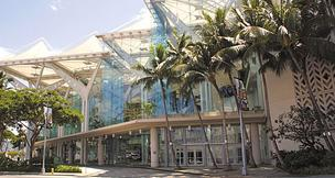 The Hawaii Tourism Authority's board met Thursday to discuss a request for proposals for a new manager for the Hawaii Convention Center. SMG Hawaii's contract to manage the facility expires at the end of the year