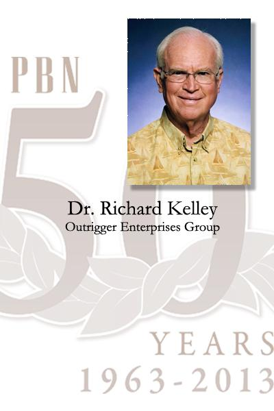 Dr. Richard R. Kelley is chairman emeritus of Outrigger Enterprises Group.
