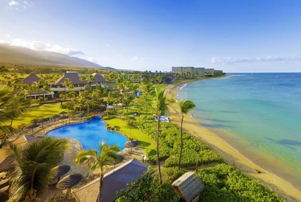 Maui was the only island in Hawaii where hotels saw an increase in occupancy in May, according to a report by Hospitality Advisors LLC and Smith Travel Research. Seen here is the Sheraton Maui Resort & Spa along Kaanapali Beach.
