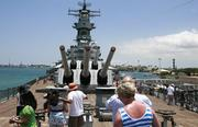 """9. Battleship Missouri Memorial, Oahu.The """"Mighty Mo,"""" the last battleship built by the United States, was the site of the Japanese surrender on Sept. 2, 1945, marking the end of World War II. The ship, which is owned by the nonprofit USS Missouri Memorial Association Inc., recently starred in the recent Universal Pictures film """"Battleship."""""""