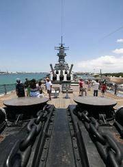 9. Battleship Missouri Memorial, Oahu.Number of visitors in 2011: 470,360, up 1 percent from 2010.