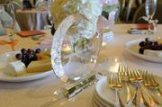 A crystal trophy for PBN's 2012 Women Who Mean Business is seen on the table at the event at The Royal Hawaiian in Waikiki.