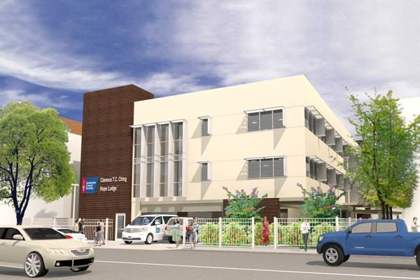 This rendering shows the American Cancer Society's Clarence T.C. Ching Hope Lodge, which will be built at 251 Vineyard St. in Honolulu, near the city's major medical centers.