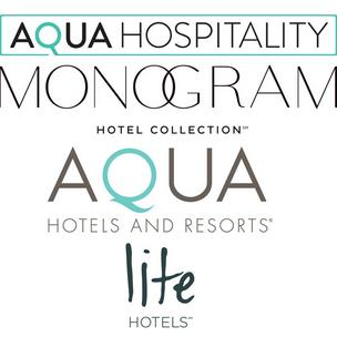 Aqua Hotels and Resorts has changed its name to Aqua Hospitality and restructured its 24 Hawaii hotel and resort properties into three different brands with new logos: the Monogram Hotel Collection; Aqua Hotels and Resorts; and Lite Hotels.