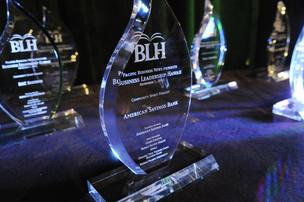 Each finalist in the six 2012 Business Leadership Hawaii categories received an award.