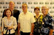 The HMAA team, from left, Portia and Reg Baker, Paul Kaiser, Deanna and John Aoki at the Pacific Business News Business Leadership Hawaii event at the Sheraton Waikiki.